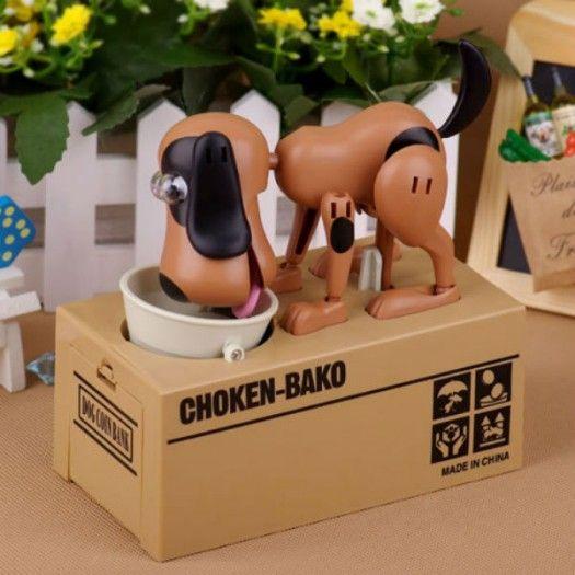 Choken Bako Para Yiyen Köpek Kumbara