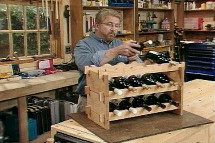 Do It Yourself Home Design: DO IT YOURSELF WINE RACK