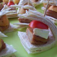 Fotografie receptu: Máslové tortillové jednohubky