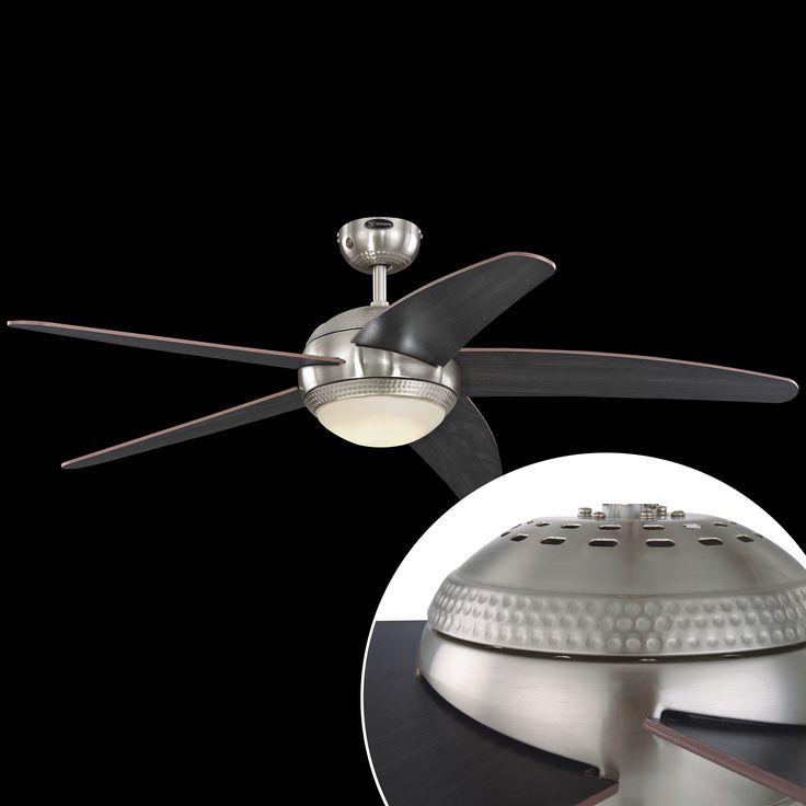Dvě naše žhavé novinky - stropní ventilátory Westinghouse Bendan s LED světlem. Ideální pro nastupující horké dny. Skladem pouze u nás! http://bit.ly/BENDAN_LED_1
