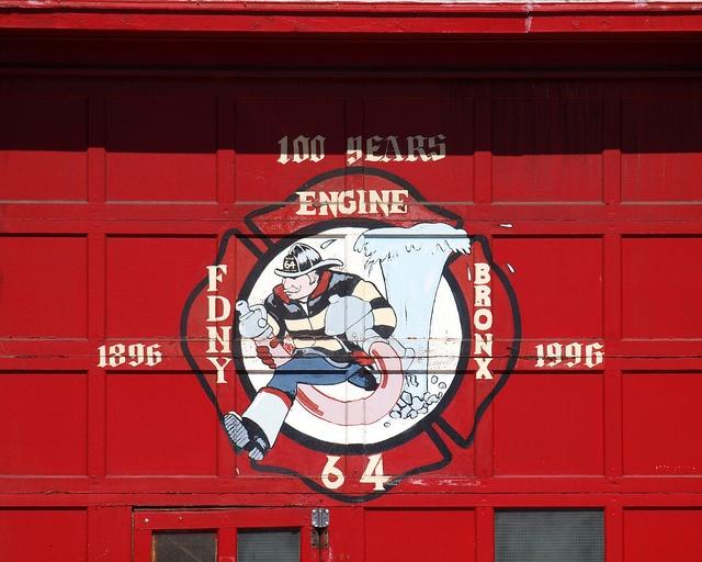 E064 FDNY Firehouse Engine 64, Castle Hill, Bronx, New York City by jag9889, via Flickr