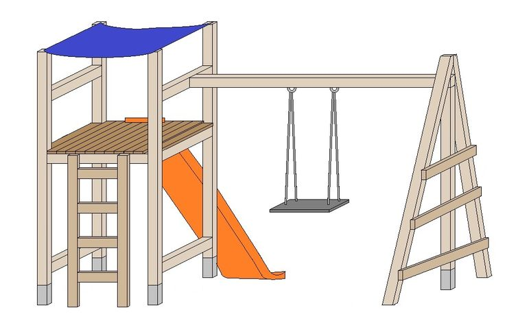 ber ideen zu spielturm selber bauen auf pinterest. Black Bedroom Furniture Sets. Home Design Ideas