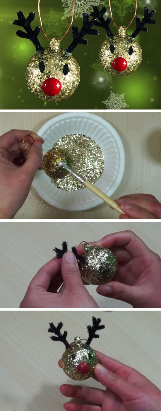 Best 25 christmas ornament crafts ideas on pinterest for Christmas decorations to make at home with the kids