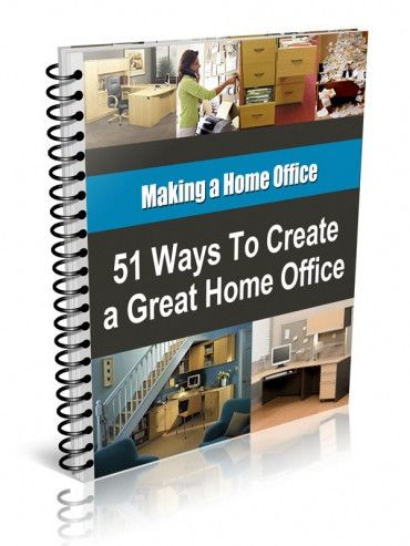 51 WAYS TO CREATE A GREAT HOME OFFICE Are you tired of doing your bills on the kitchen table? Have you been wanting to set up your home office but don't know where to start? 51 Ways to Create a Great Home Office can help! You will find tips like: * Where to find new furniture for half the price * The best layout for your home office * Creative ways to use things you already have * How to separate your home office from your home * How to accessorise your home office  www.persiabooks.org