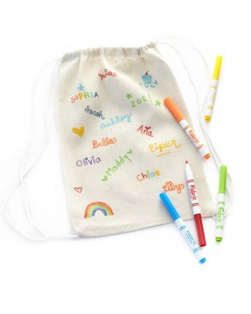 Summer Camp Care Package- Design Your Own Backpacks