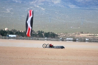 Kite buggy world speed record
