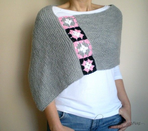 Poncho, crochet ideas