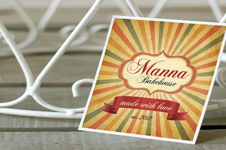 Manna Bakehouse - brand development