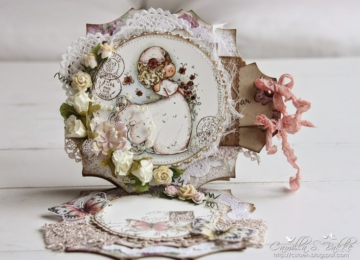 Cards by Camilla: Staffelikort til bryllup ♥