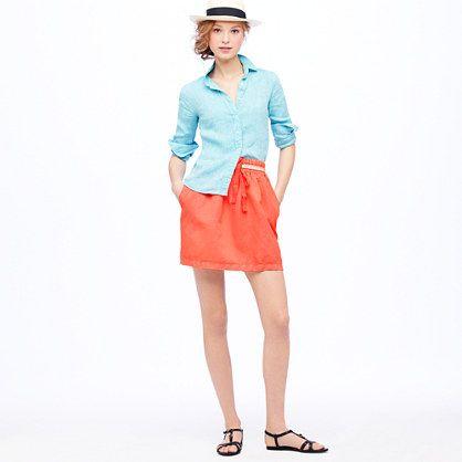 summer look: Color Combos, Spring Summ Color, Jcrew Drawstring, Summer Color, Patriots Color, Jcrew Addiction
