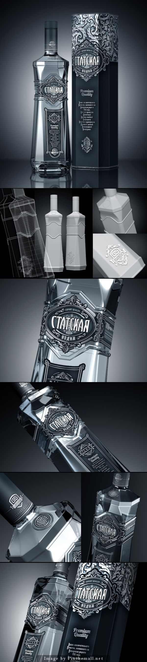 Statskaya Premium Vodka Agency: DSG Creative Design Production Client: