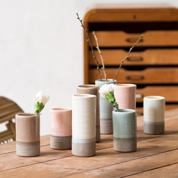 Add a dash of elegance to your decor with the sisters' ceramic vases. Which colour vase is your favourite? Prices from DKK 24,40 / SEK 33,80 / NOK 35,60 / EUR 3,44 / ISK 648 / GBP 3.29