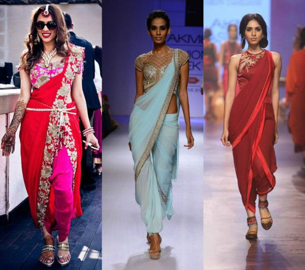 Tips To Flaunt The Edgy Dhoti Sarees!! photo