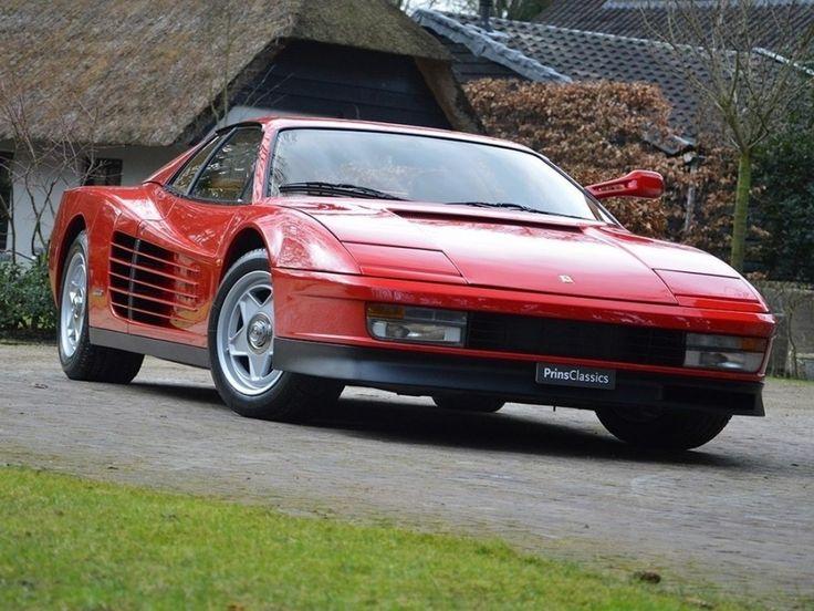 Ferrari - Testarossa - Droomgarage | Droomgarage http://www.windblox.com/ #windscreen #ferrari #testorossa