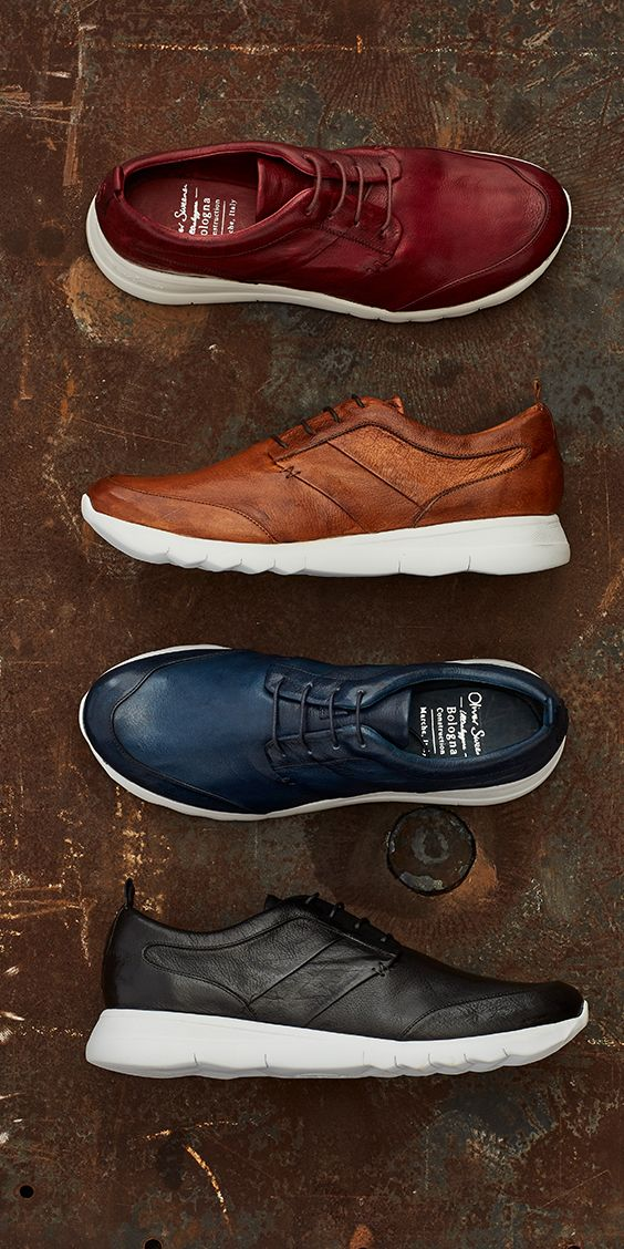 Lighter. Faster. Smarter.  Our bestselling leather trainer combines traditional craftsmanship with modern technology.