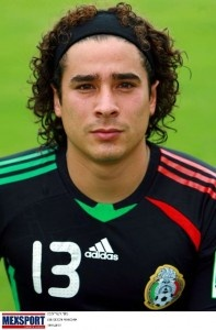 #13 Guillermo Ochoa (Mexico) has always been my favorite