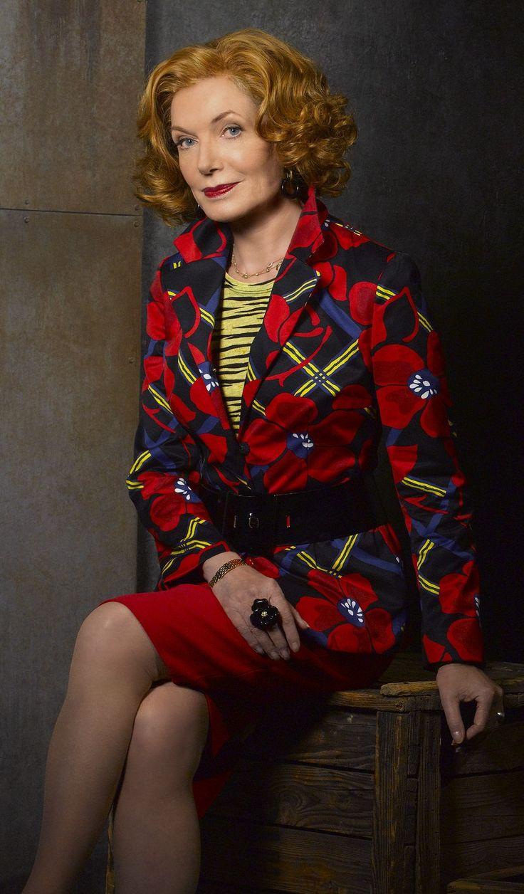 Martha Rodgers on Castle. Susan Sullivan is 72