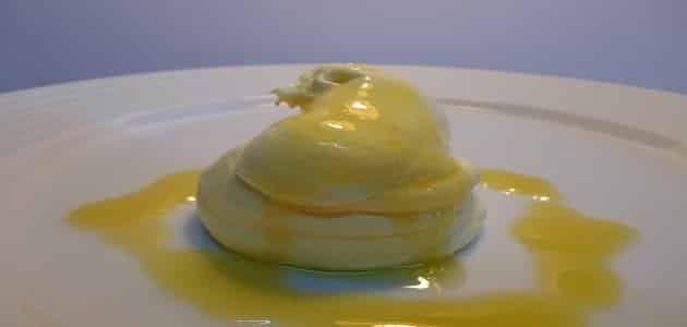 طريقة عمل ايس كريم المانجو بالكريم شانتيه Mango Ice Cream Desserts Food