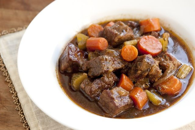 Beef and Guinness Stew Recipe from www.inspiredtaste.net #recipe #stew ...