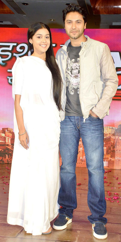 Mishal Raheja and Eisha Singh at the launch of new TV show 'Ishq Ka Rang Safed'. #Bollywood #Fashion #Style #Beauty