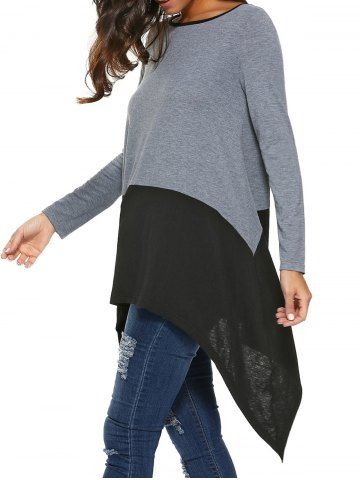 GET $50 NOW | Join RoseGal: Get YOUR $50 NOW!http://www.rosegal.com/blouses/long-sleeve-asymmetrical-blouse-732852.html?seid=8569013rg732852