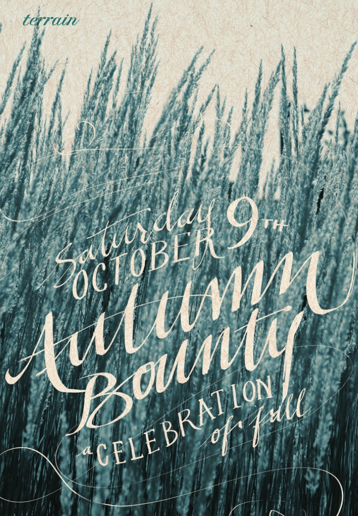 hand drawnDesign Inspiration, Autumn Bounty, Hands Drawn Typography, Posters Design, Hands Letters, Mint Typography, Beautiful Scripts, Graphics Design, Beautiful Handlettering