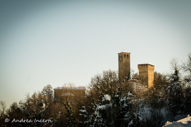 Snowy castle by Andrea Incerti on 500px