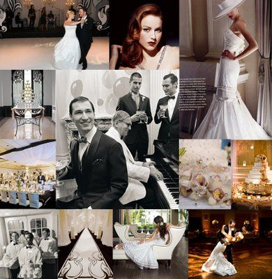 40s hollywood glamour | Your Wedding Support: GET THE LOOK - Retro Hollywood Wedding