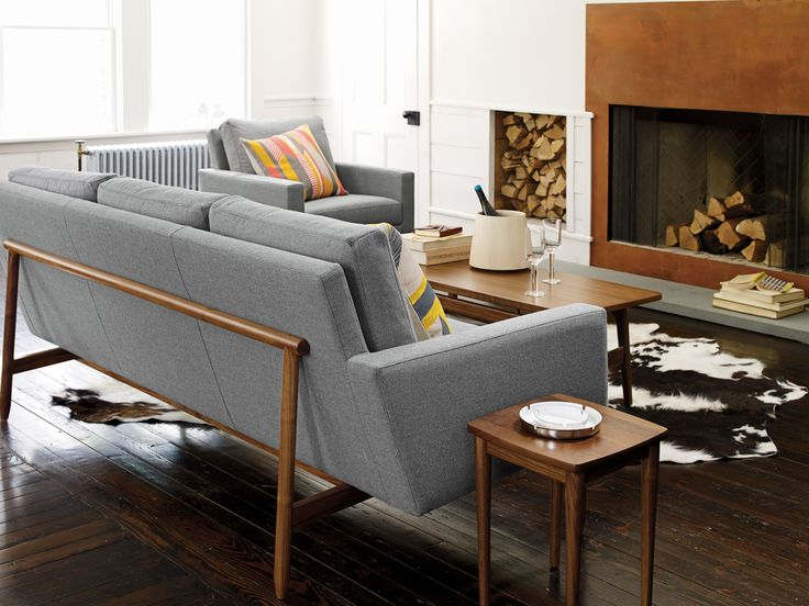 Delightful Raleigh Sofa Collection, Designed By Jeffrey Bernett And Nicholas Dodziuk,  DWR, Styling By Studio Marcus Hay | New Images/ SMH | Pinterest | Living  Rooms, ...