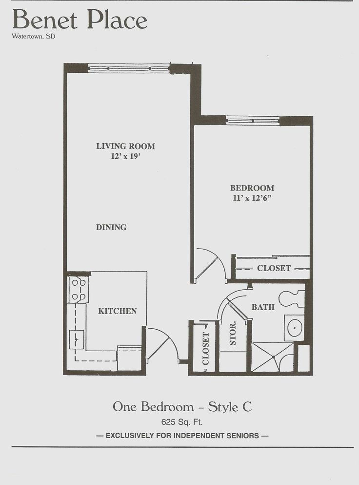 Inspirational 1 Bedroom Apartment Design Plans Apartment Bedroom Decor Apartment Floor Plan One Bedroom House