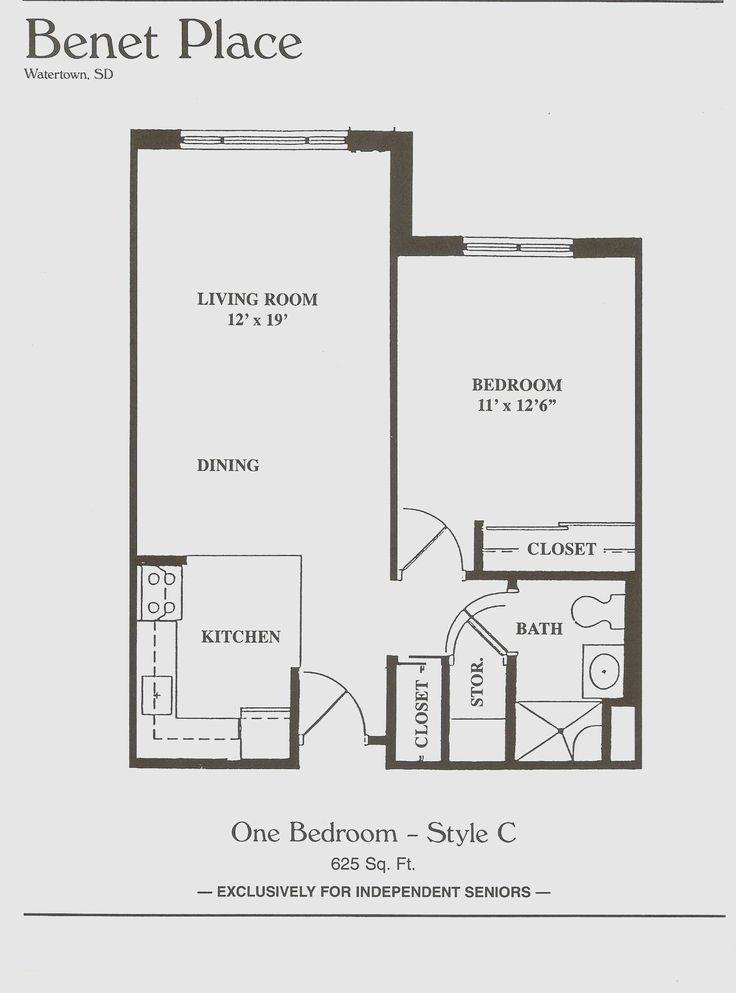 Inspirational 1 Bedroom Apartment Design Plans Apartment Bedroom Decor Apartment Floor Plan One Bedroom House Plans