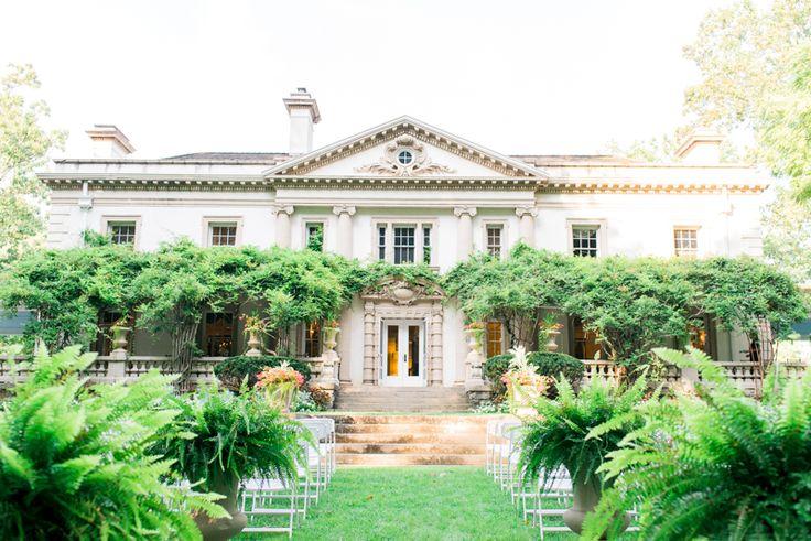 Maryland Wedding Venue - Liriodendron Mansion - Bel Air, Maryland www.CharmingGraceEvents.com