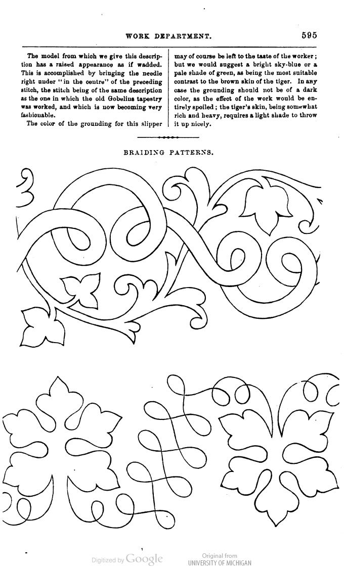 soutache embroidery pattern