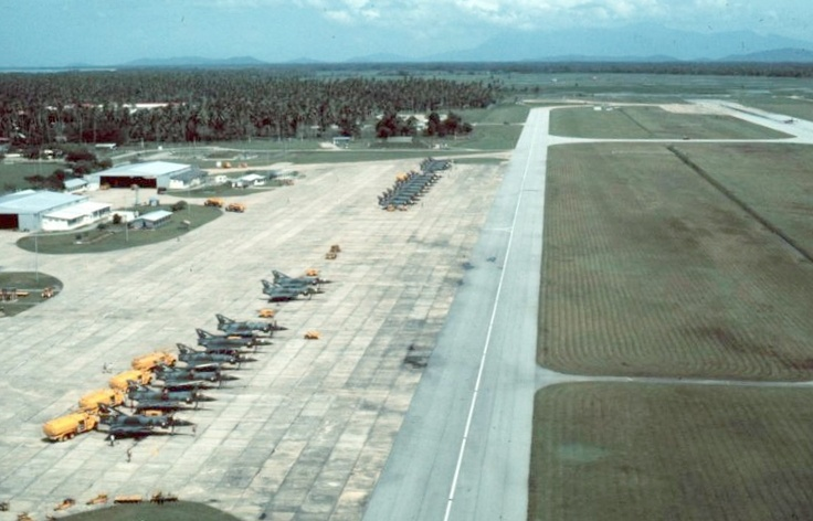 75 & 3 Squadron flightlines RAAF Butterworth