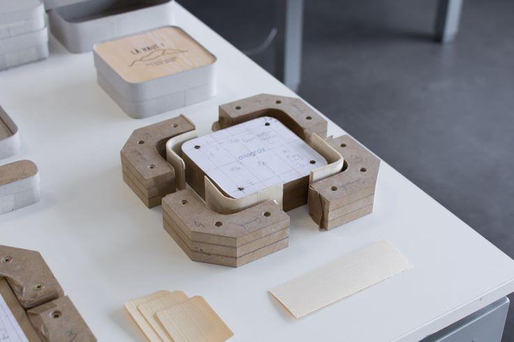 Quentin Santenard étudiant en DSAA Design à l'ESDMAA/Lycée Jean Monnet à Yzeure présente son projet de diplôme La Haut il tente de créer du lien en altitude