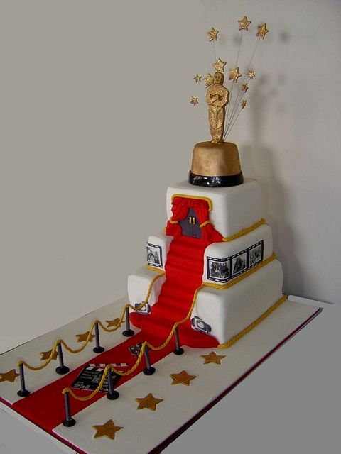 Hollywood cake by Make it Memorable, via Flickr