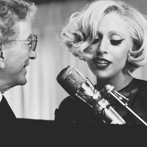 Tony Bennett and Lady Gaga. Duet album of ballads. I NEED this album. Heard them sing The Lady is a Tramp. Awesome!