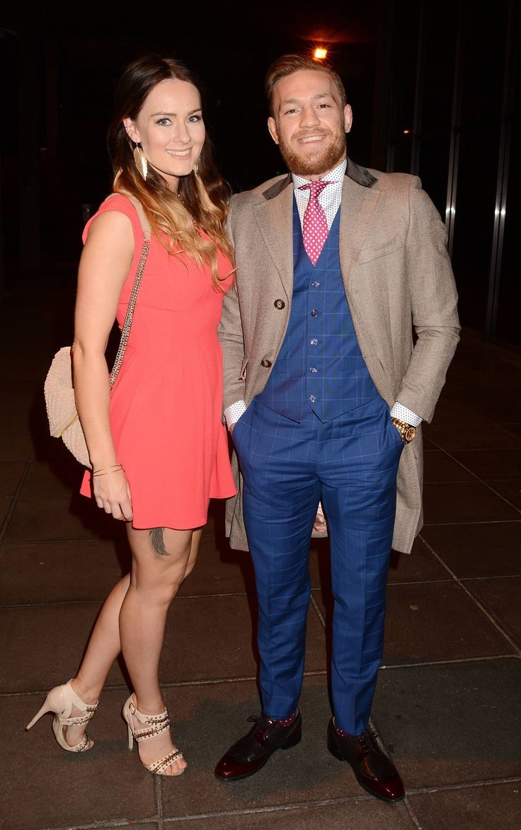 gorgeous Dee Devlin out in the town w/ smiling Conor McGregor : if you love #MMA, you'll love the #UFC & #MixedMartialArts inspired fashion at CageCult: http://cagecult.com/mma