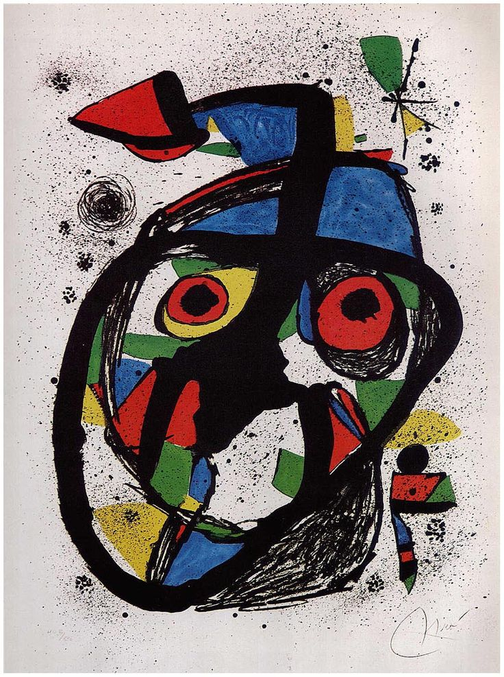 'Carota' (ca.1978) by Joan Miró
