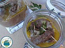 Involtini di carne alla silana in vasocottura |