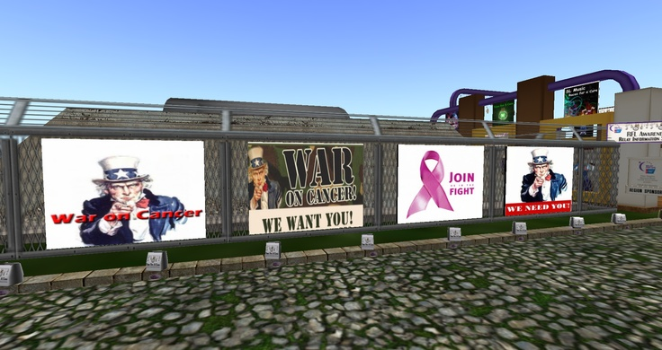 Second Life; Relay for Life 2012