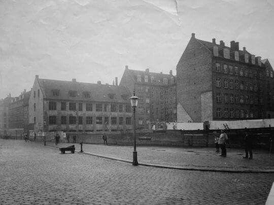 Halmtorvet ca. 1890