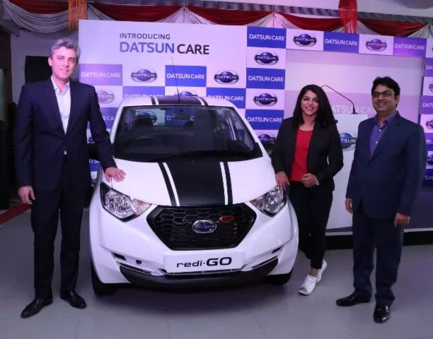 Datsun Launches 'Datsun CARE' for redi-GO Customers Pan India http://ift.tt/2qSOHNk    Datsun Indiahas launched 'Datsun CARE' - a new service package plan for new redi-GO owners across India. Datsun redi-GO SPORT brand ambassador and Olympic medallist Sakshi Malik was the first customer who availed the special Datsun CARE package.  Under the terms of the Datsun CARE comprehensive service package customers can save approximately 10% on periodic and general repairs. In addition the customer…