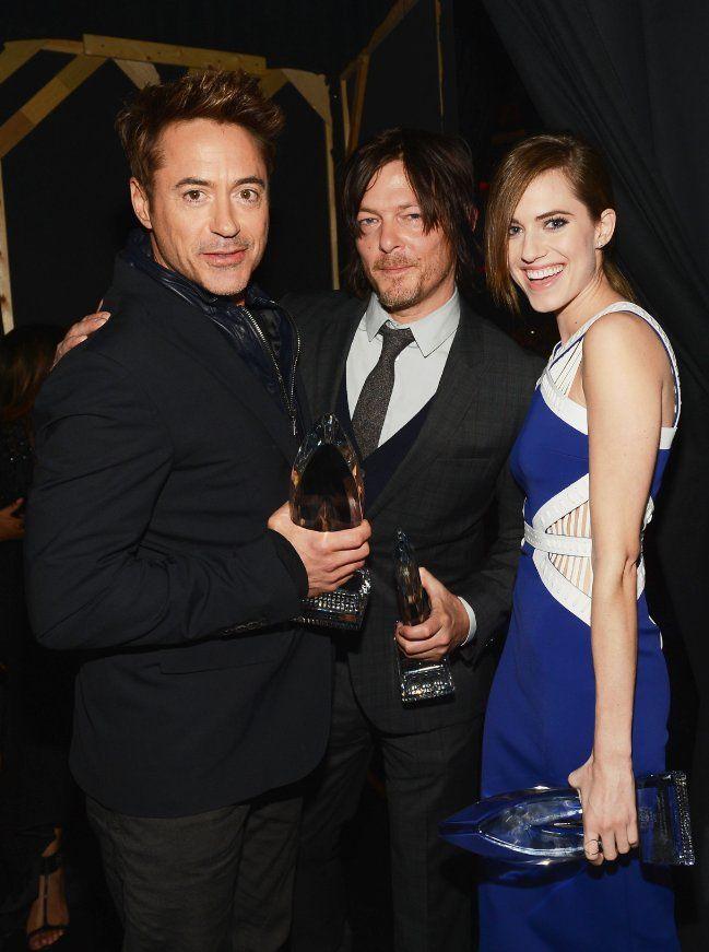 Robert Downey Jr + Norman Reedus + Allison Williams -- WHAT?!