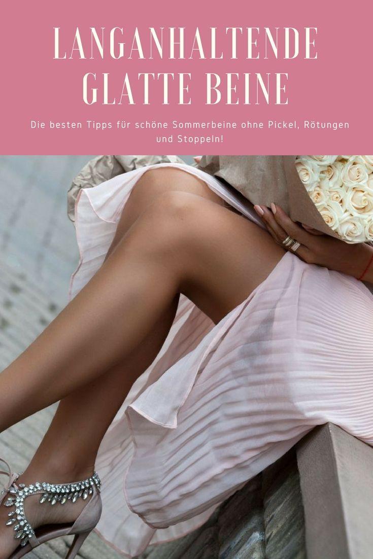 Enthaarungscreme, Wachsen, Epilieren, Wachsen und Co. – im Sommer sehnen wir uns nach seidig glatten Beinen ohne Stoppeln und ohne Hautirritationen! Auf meinem Blog erfahrt ihr alle wichtigen Infos über glatte Beine!