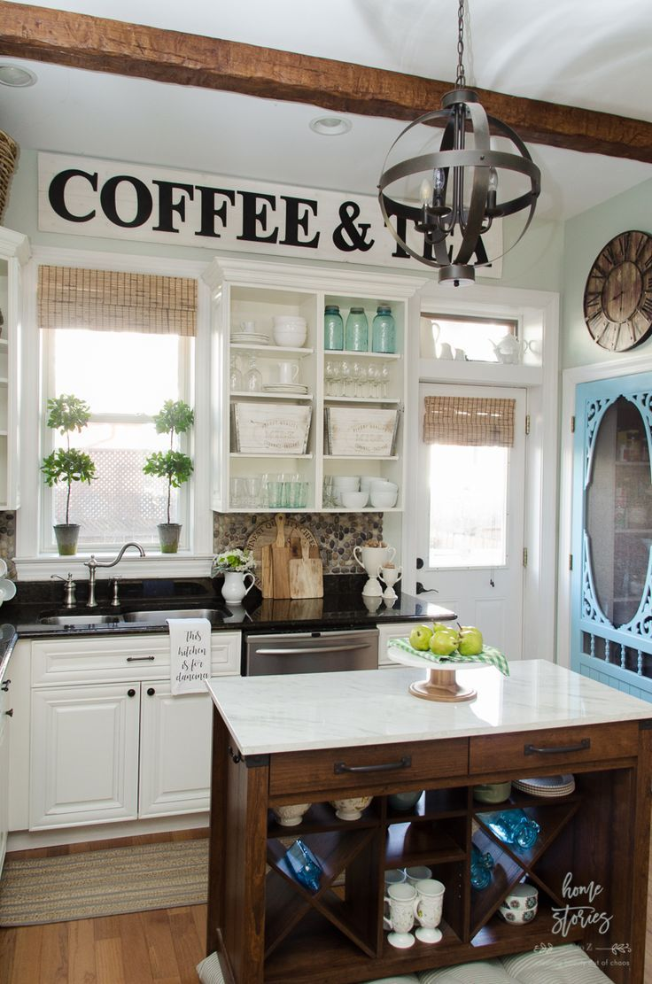 1381 best home stories a to z projects images on pinterest for Urban farmhouse kitchen