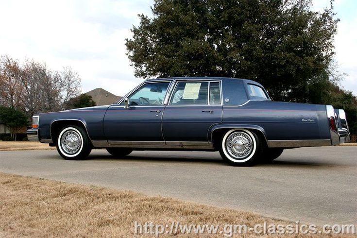 1984 alloriginal Cadillac Fleetwood Brougham in Hatteras Blue