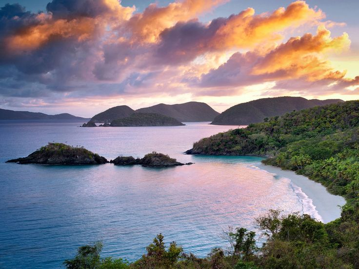 One of my favorite beaches, Trunk Bay, St John, BVI made the list!  The 20 Most Beautiful Beaches in the World - Condé Nast Traveler