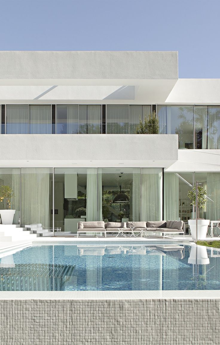 44 best facade design images on pinterest architecture for Most modern house in the world