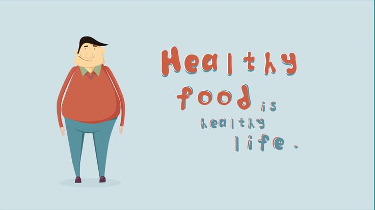 Social campaign explainer: Healthy food is healthy life.
